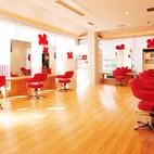 店舗デザイン/北欧デザインを表現した美容室