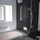 古いタイル張りの浴室をユニットバスにリフォーム